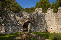 Ruins of the ancient roman city Butrint, Albania.