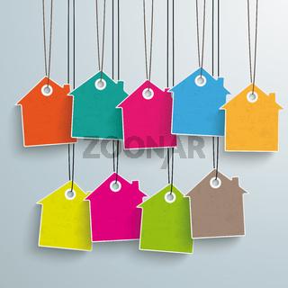 9 Colored Price Sticker