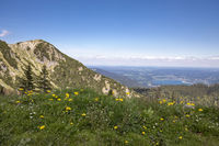 Blick auf den Kratzer, Bayern, mit Tegernsee