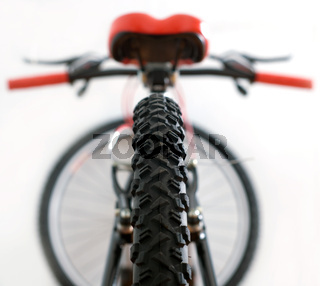 tire of mountain bike