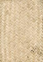 Woven bamboo mat texture background