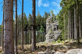 Kleine Feuersteinklippen bei Schierke