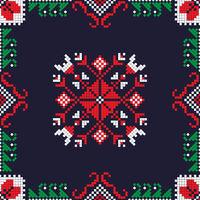 Romanian traditional pattern 191