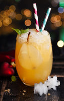 Fruchtiger Cocktail mit Birne