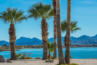 A breathtaking view at Lake Havasu, Arizona