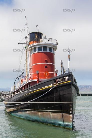 Ancient tugboat