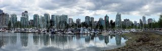 Harbour in Vancouver, Canada.