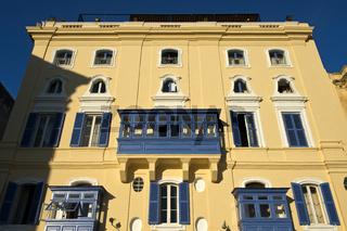 Fassade des Hotels Castille,Malta