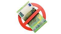100 Euro-Schein, Bargeldverbot