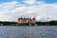 view of the Moritzburg Castle in Saxony