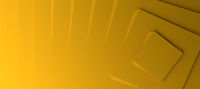 Yellow modern background with three dimensional steps