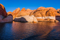 Sunset.  Lake Powell
