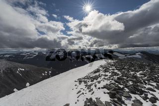 Landschaft in den Abiskoalpen, Lappland