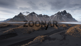 Icelandic Landscape, Vestrahorn Mountains, Hofn, Stokksnes peninsula, Iceland
