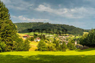 Schuttertal im Schwarzwald, Baden-Württemberg, Deutschland