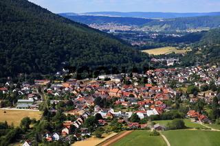 Ortsbild von Amorbach