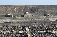 Ort Ahmed Ela, Danakil Depression, Afar Dreieck, Äthiopien