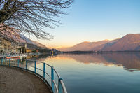 Romantic Iseo lake view