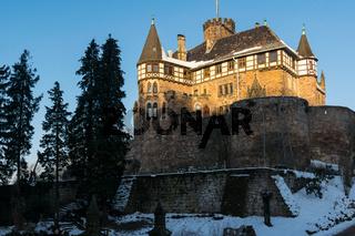 Das Schloss Berlepsch bei Witzenhausen in Nordhessen