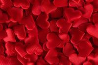 Valentines day hearts background