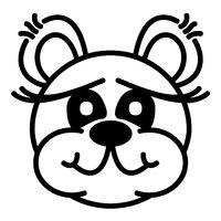 Lustiger Bär - fröhlich