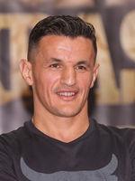 SES Boxing Profi-Boxer im Halbschwergewicht Robin Krasniqi bei der PK zur SES-Boxing-Gala am 22.09.2020 in Magdeburg