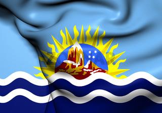 Flag of Santa Cruz Province