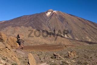 Blick von Roques de Garcia auf den Teide Vulkan, Teneriffa