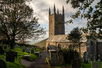 Ancient parish church of St Morwenna at Morwenstow