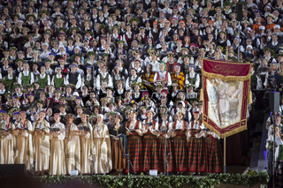 The Latvian National Song and Dance Festival Grand Finale concert