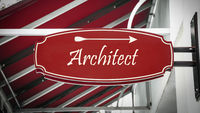 Street Sign to Architect