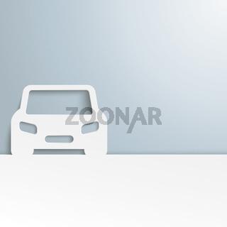 White Car Cover