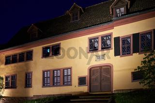 Bach-Haus in der Altstadt von Eisenach
