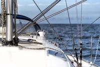sailing on a sailing yacht