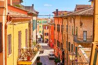 Street in Santarcangelo di Romagna