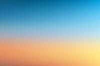 Sunset sunrise sky nature blurred background realistic vector illustration.