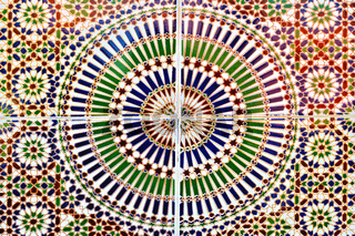 marokkanisches Fliesenmotiv