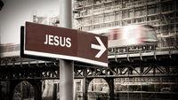 Street Sign to Jesus