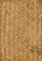Woven bamboo mat texture background
