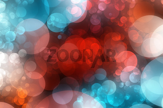 Fantastic powerful bubbles background design illustration