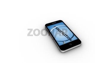 Information on smartphone screen