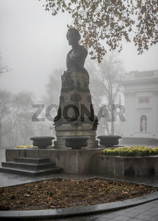 Monument to Pushkin in Odessa, Ukraine