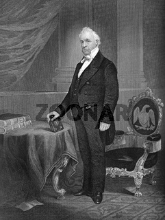 James Buchanan, Jr., 1791 - 1868, the 15th President of the United States