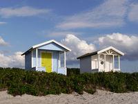 Strandhütten in Schweden