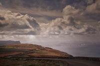 Mystische Abendtimmung auf der Kanareninsel Lanzarote