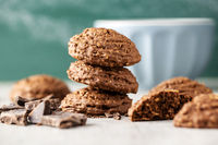 Cereal cocoa cookies.