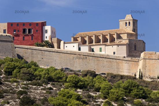 Stadtansicht Ibizza Altstadt