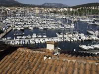 sanary sur mer in frankreich