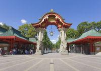 Zoologischer Garten, das Elefantentor, Berlin