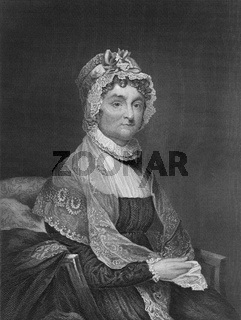 Abigail Smith Adams, 1744 - 1818, wife of John Adams